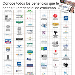 Lista de beneficios de la credencial de Exalumno UNAM